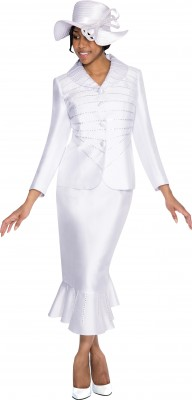 Church Suits-G5282 - WHITE