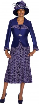 Church Suits-G5312 - PURPLE