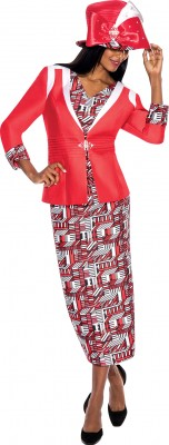 Church Suits-G5663 - RED