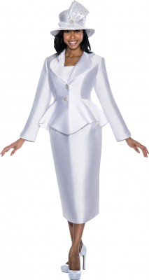 Church Suits-G5753 - WHITE