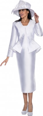 Church Suits-G5793 - WHITE