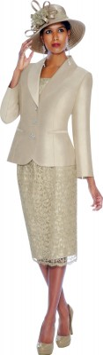 Church Suits-G5972 - CHAMPAGNE