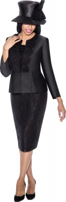 Church Suits-G6203 - BLACK