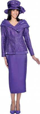 Church Suits-G6312 - PURPLE
