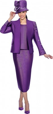 Church Suits-G6333 - PURPLE