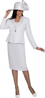 Church Suits-G6353 - WHITE