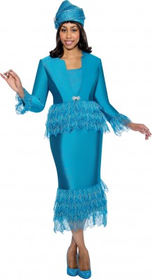 Church Suits-G6473 - TEAL
