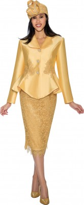Church Suits-G6592 - YELLOW