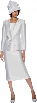 Church Suits-G6653 - WHITE