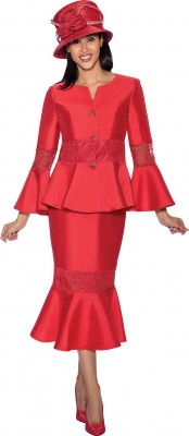 Church Suits-G6732 - RED
