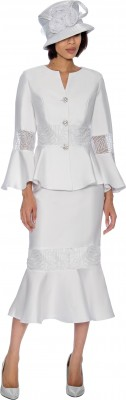 Church Suits-G6732 - WHITE