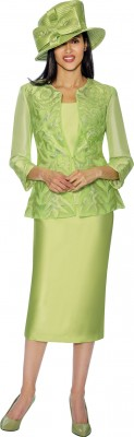 Church Suits-G6813 - LIME GREEN