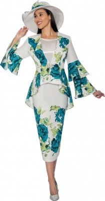 Church Suits-G6853 - MULTI PRINT