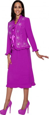 Church Suits-GK5473 - PURPLE