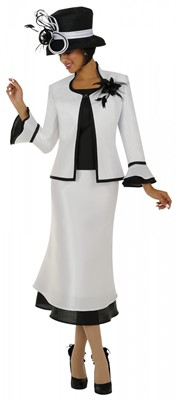 Church Suits-N95033 - WHITE