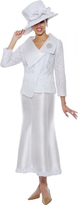 Church Suits-N95102 - WHITE