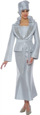 Church Suits-N95152 - Light Silver