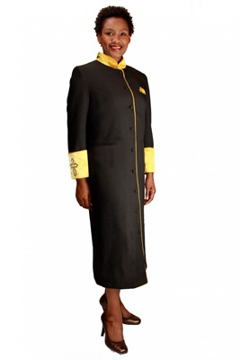 Choir Robes-RR9001 - BLACK/GOLD