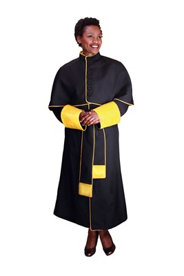 Choir Robes-RR9002 - BLACK/GOLD