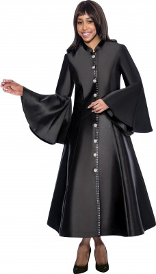 Choir Robes-RR9031 - BLACK