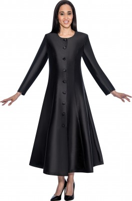 Choir Robes-RR9041 - BLACK