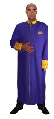 Choir Robes-RR9091 - PURPLE/GOLD