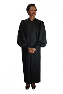 Choir Robes-RR9071 - BLACK